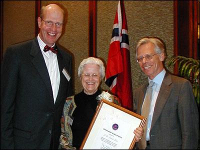 Ambassador's Award to Kleber