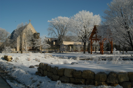St. Olaf in winter