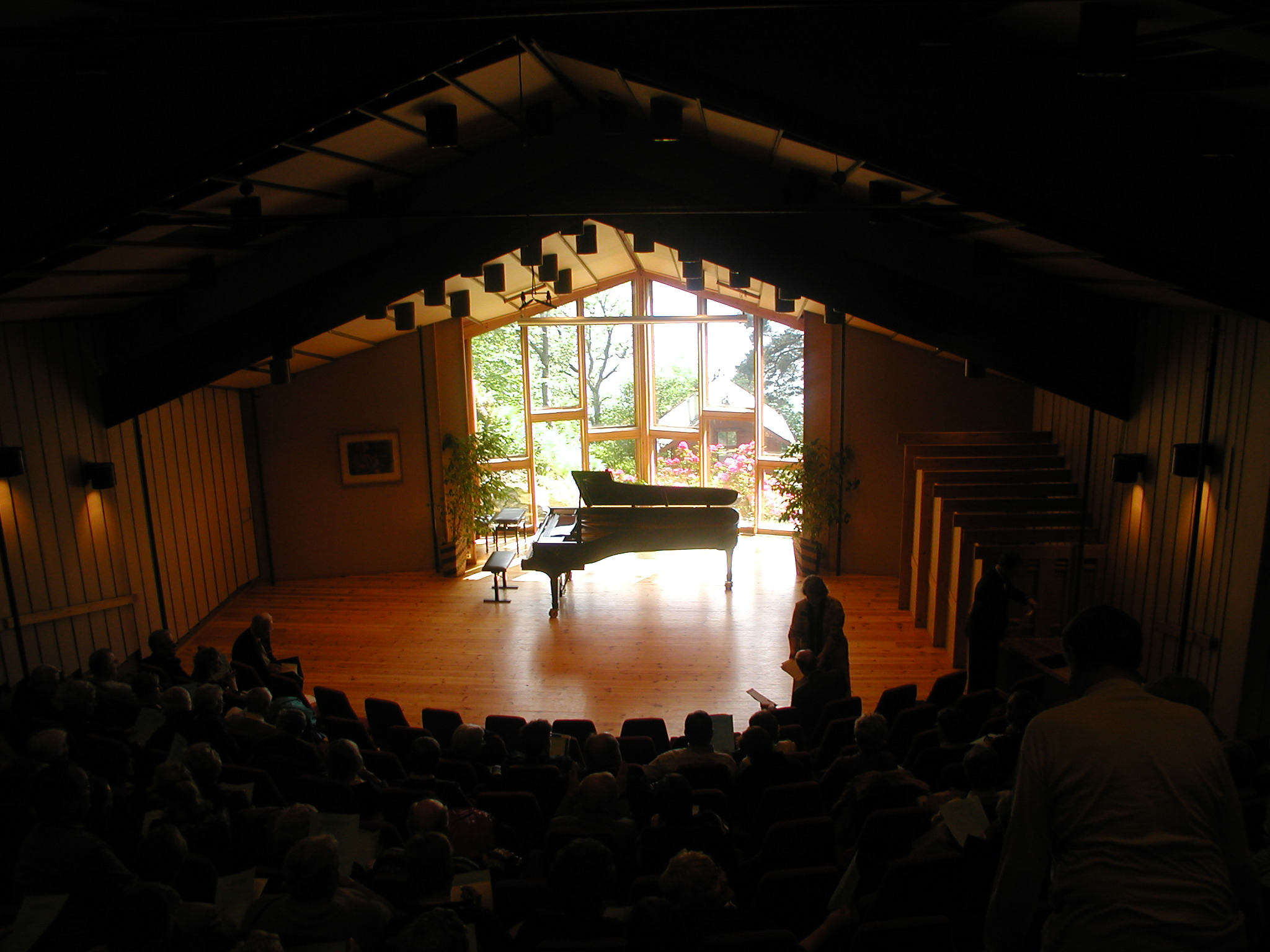 Troldhaugen recital hall