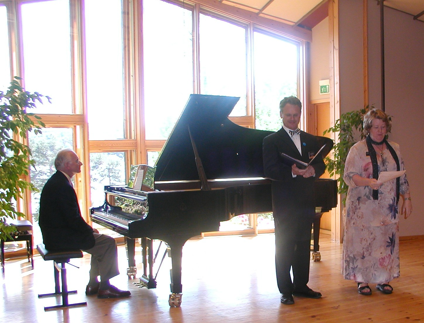 Troldhaugen faculty trio