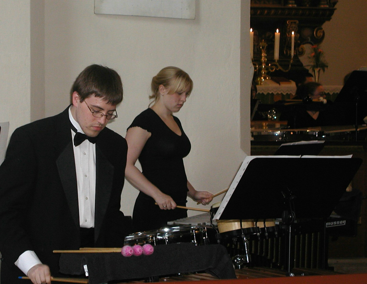 Band Snåsa-percussion duo