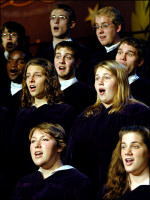 the st olaf choir performs during the 2007 st olaf christmas festival - St Olaf Christmas Festival