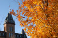 old main in fall
