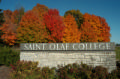 St. Olaf in fall
