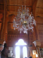 Bull Music Room Ceiling and Chandelier