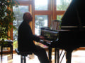 Troldhaugen Charles at piano