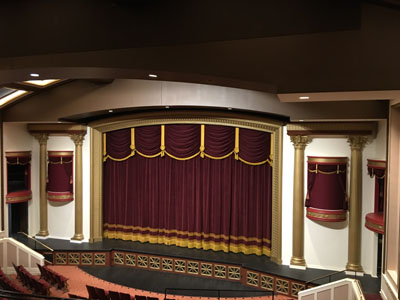 TWP The Interior Design Teams Of MCM Interiors And Nelson Theatre Consulting Firm Schuler Shook Minneapolis Minnesota Masonic Heritage